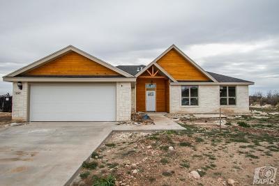 San Angelo Single Family Home For Sale: 8307 Puma Court