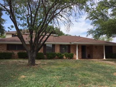 San Angelo Single Family Home For Sale: 3806 Sunset Dr