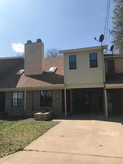 San Angelo Condo/Townhouse For Sale: 3512 Juanita Ave