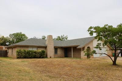 San Angelo Single Family Home For Sale: 3830 Driftwood Dr