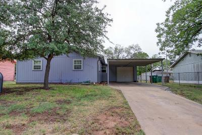 San Angelo TX Single Family Home For Sale: $112,000