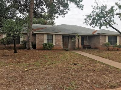 San Angelo Single Family Home For Sale: 3849 Sunset Dr