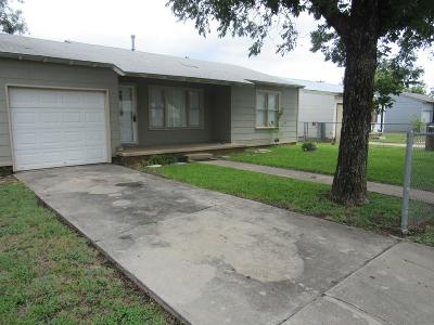 San Angelo TX Single Family Home For Sale: $90,000