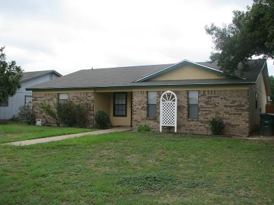 San Angelo Single Family Home For Sale: 1118 S Concho Park Dr