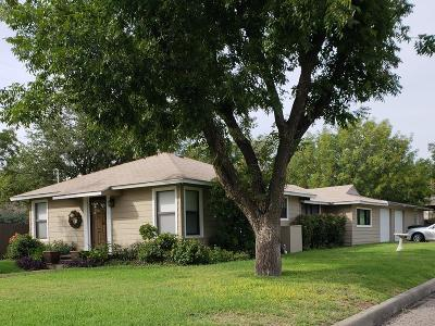 San Angelo Single Family Home For Sale: 401 S Fillmore St