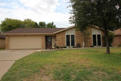San Angelo TX Single Family Home For Sale: $164,000