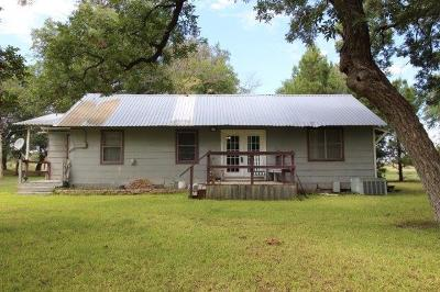 Christoval Single Family Home For Sale: 19110 Pond Rd