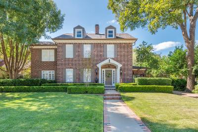 San Angelo Single Family Home For Sale: 1315 S Madison St