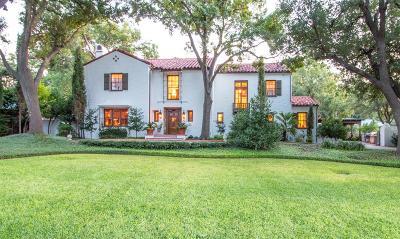 San Angelo Single Family Home For Sale: 1107 Montecito Dr