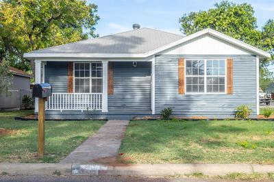 San Angelo TX Single Family Home For Sale: $189,000