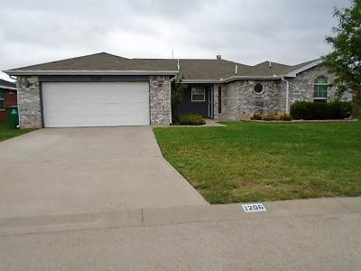 San Angelo Single Family Home For Sale: 1206 Hugo Lane