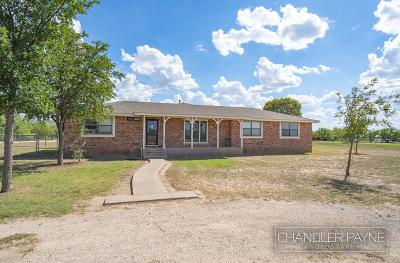 San Angelo Single Family Home For Sale: 1101 Hwy 584