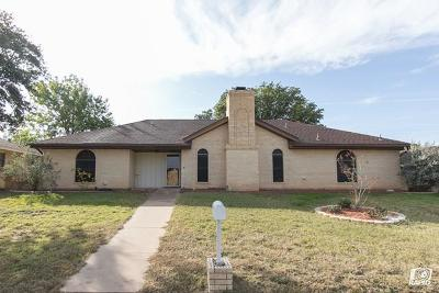 San Angelo Single Family Home For Sale: 3805 Southland Blvd