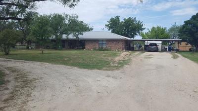 San Angelo Single Family Home For Sale: 9765 Floyd Lane