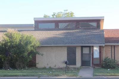 San Angelo Condo/Townhouse For Sale: 2618 Sunset Dr