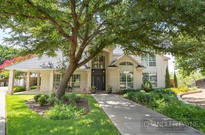 San Angelo Single Family Home For Sale: 1208 Pinehurst Court