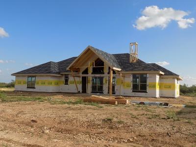 San Angelo Single Family Home For Sale: 3529 Badger Ct