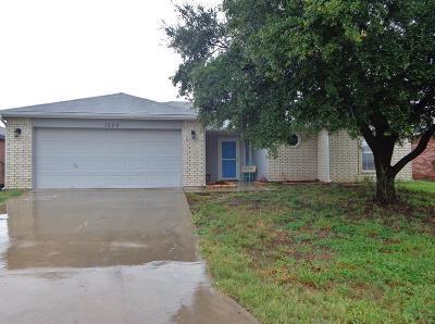San Angelo Single Family Home For Sale: 1226 James Lane