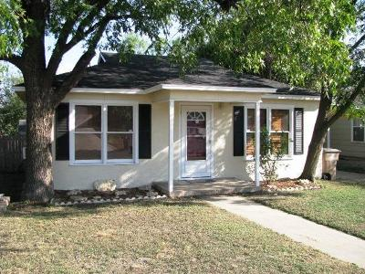 San Angelo Single Family Home For Sale: 2113 Woodlawn Dr