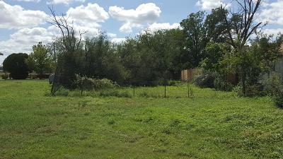 San Angelo Residential Lots & Land For Sale: 2707 N Magdalen St