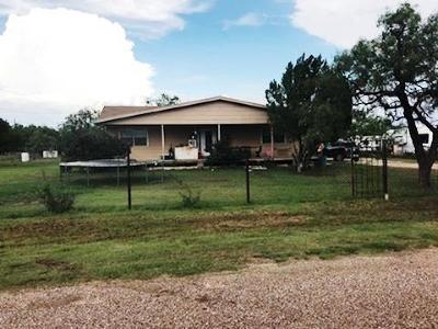 San Angelo Single Family Home For Sale: 10846 Cottontail Lane