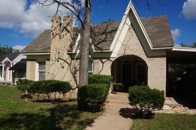 San Angelo Single Family Home For Sale: 1406 S David St