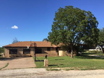 San Angelo Single Family Home For Sale: 314 Bluegrass Dr