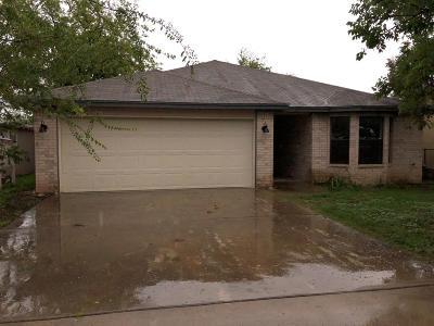 San Angelo TX Single Family Home For Sale: $129,900