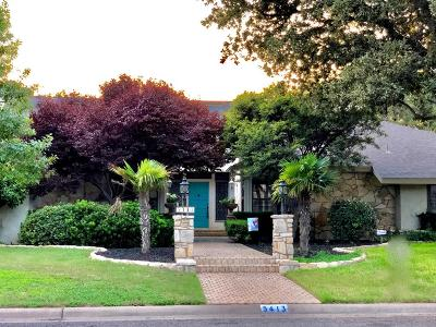 San Angelo Single Family Home For Sale: 5413 Beverly Dr