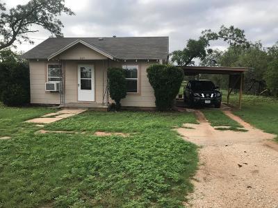 San Angelo TX Single Family Home For Sale: $56,900