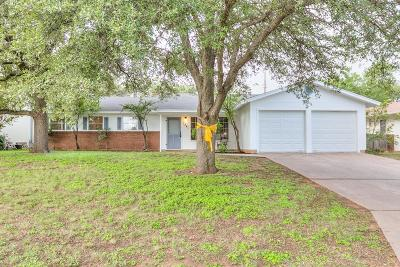 San Angelo Single Family Home For Sale: 3341 Westover Terrace Dr