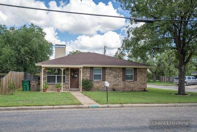 San Angelo TX Single Family Home For Sale: $117,900