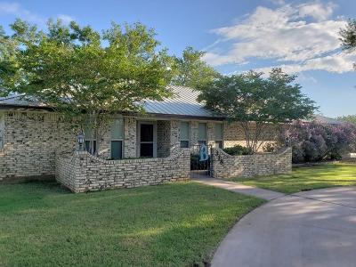 San Angelo TX Single Family Home For Sale: $266,000