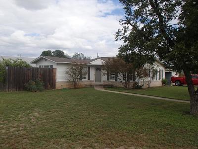 San Angelo TX Single Family Home For Sale: $117,000