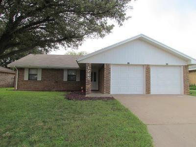 San Angelo Single Family Home For Sale: 1725 Kansas Ave