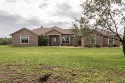 San Angelo Single Family Home For Sale: 2133 Saddleside