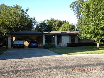San Angelo Single Family Home For Sale: 2606 Nasworthy Dr