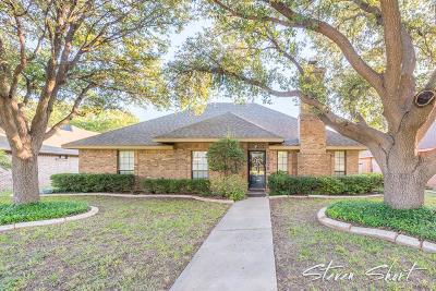 San Angelo Single Family Home For Sale: 3518 Cedar Ridge Lane