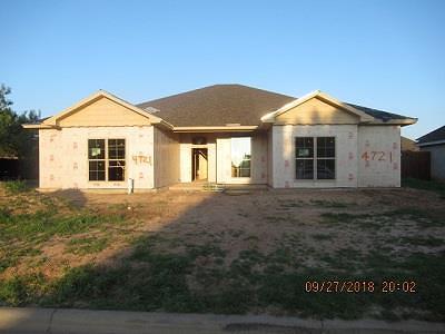 San Angelo Single Family Home For Sale: 4721 Muirfield Ave