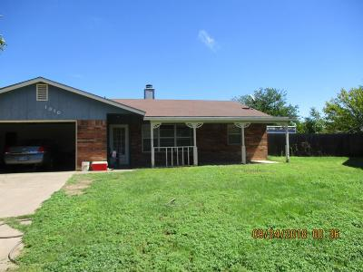 Single Family Home For Sale: 1010 Alpha Circle