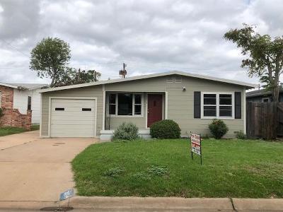 San Angelo Single Family Home For Sale: 3014 W Beauregard Ave