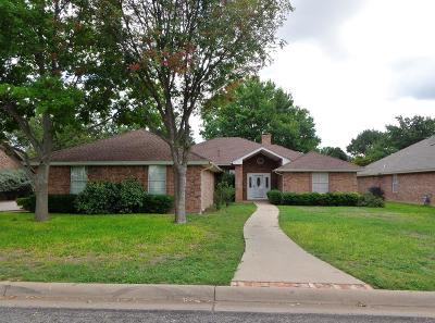 San Angelo Single Family Home For Sale: 5384 Fairway Dr