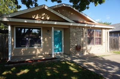 San Angelo Single Family Home For Sale: 1522 N Garfield St