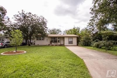 San Angelo Single Family Home For Sale: 2817 W Harris Ave