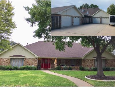 San Angelo Single Family Home For Sale: 3406 Clearview Dr