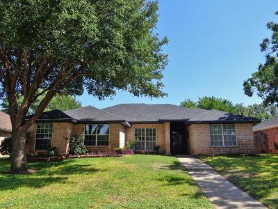 San Angelo Single Family Home For Sale: 4822 Scarlet Oak Dr