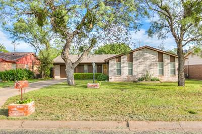 San Angelo Single Family Home For Sale: 918 State Court Dr