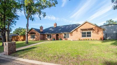 San Angelo Single Family Home For Sale: 2730 Oak Mountain Trail