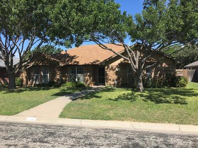 San Angelo Single Family Home For Sale: 3546 Grandview Dr