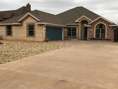 San Angelo Single Family Home For Sale: 6016 Warwick Dr